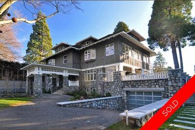 Shaughnessy 3 Level With Basement:  6 bedroom