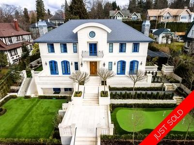 Vancouver luxury westside Shaughnessy home with garden for sale