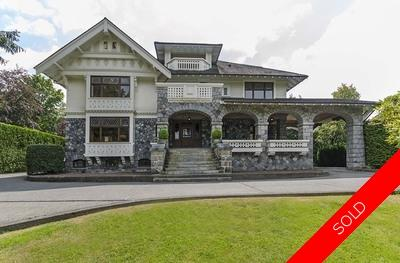 Vancouver westside luxury Shaughnessy home close to shops & galleries for sale