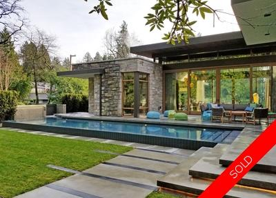 Vancouver Westside luxury home with pool for sale