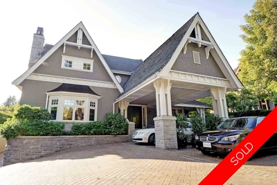 Shaughnessy 2 Level with Basement for sale:  7 bedroom 10,318 sq.ft.
