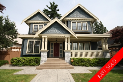 Shaughnessy 2 Level Home for sale:  6 bedroom 5,317 sq.ft. (Listed 2015-06-10)