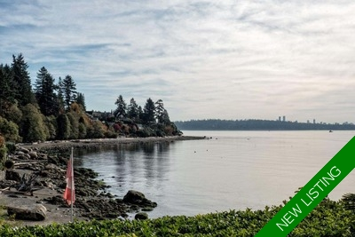 Vancouver home for sale: waterfront, beach access, extensively renovated by renowned architect. Quiet residence.
