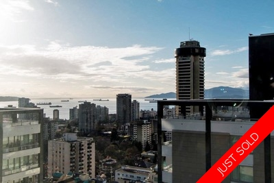 Downtown Vancouver Penthouse for sale: 2-level off Robson Street.