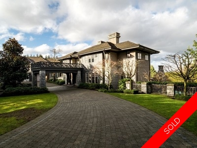 First Shaughnessy 2 Level with Basement for sale:  6 bedroom 12,011 sq.ft.