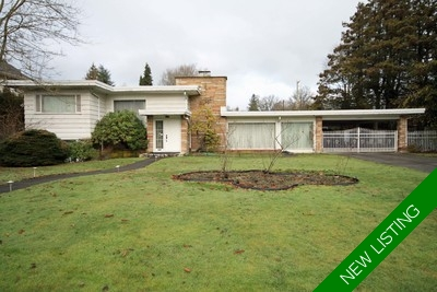 First Shaughnessy  2 Level with Basement for sale:  6 bedroom 4,411 sq.ft.