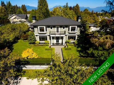 Shaughnessy 2 Level with Basement for sale:  6 bedroom 7,031 sq.ft.