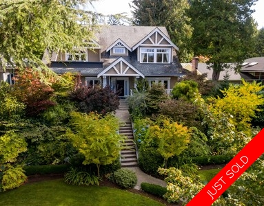 Shaughnessy 2 Level with Basement for sale:  5 bedroom 5,463 sq.ft.