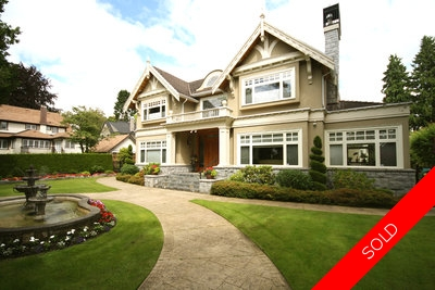 South Granville 3 Level House for sale:  7 bedroom 7,935 sq.ft.