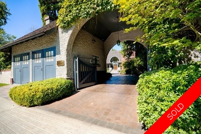First Shaughnessy 2 Level with Basement:  6 bedroom