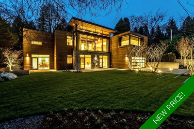 Kerrisdale 2 Level Home for sale:  5 bedroom 6,481 sq.ft.