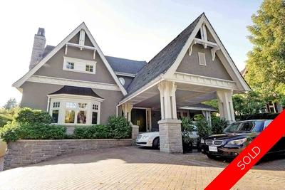 Shaughnessy 2 Level with Basement:  7 bedroom