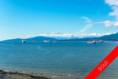 Vancouver Kitsilano waterfront 2 Level Home for sale: 4 + 1 den 5,269 sq.ft.